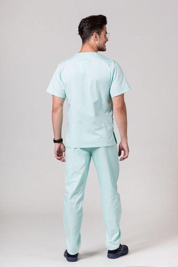 komplety-medyczne-meskie Pánská zdravotnická súprava Sunrise Uniforms mátová