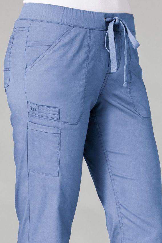 spodnie-medyczne-damskie Lékařské kalhoty Maevn PrimaFlex klasicky modré
