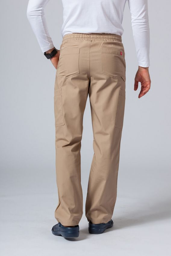 spodnie-medyczne-meskie Pánské lékarské nohavice Maevn Red Panda Cargo (6 kapes) khaki