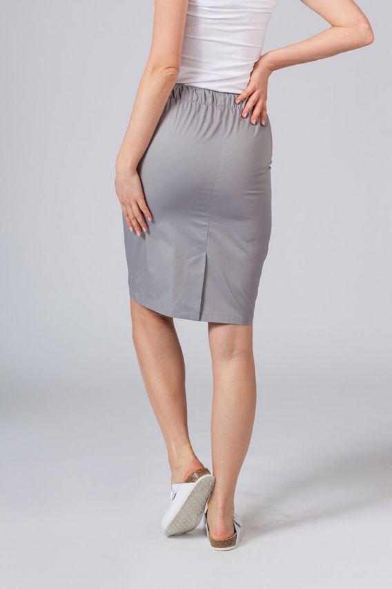 spodnice Dlouhá zdravotnická sukně Sunrise Uniforms šedá