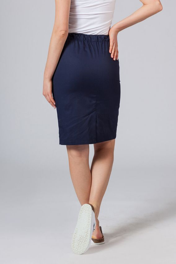 spodnice Dlouhá zdravotnická sukně Sunrise Uniforms námořnická modř