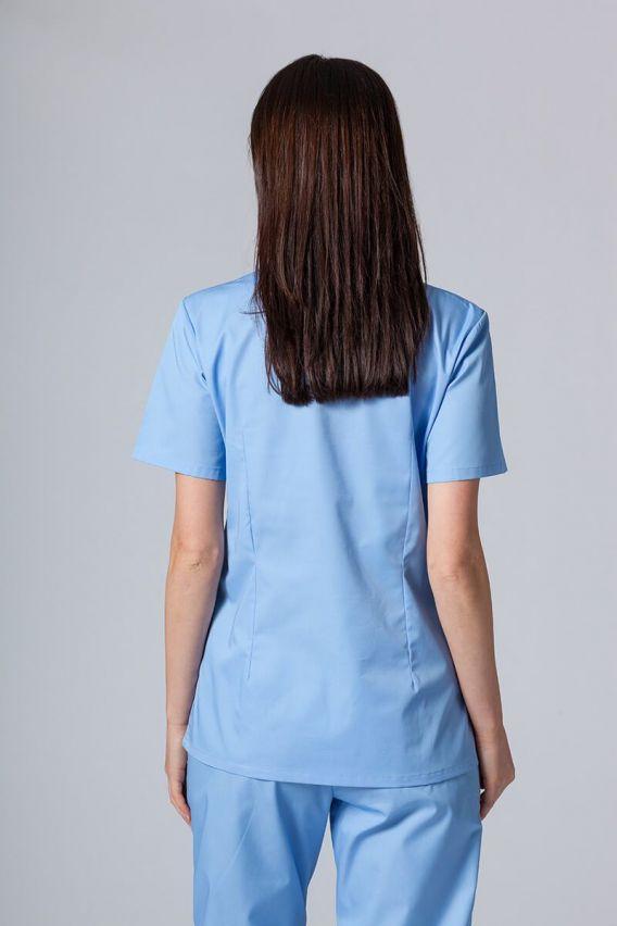 bluzy-medyczne-damskie Lékařská halena Sunrise Uniforms modrá