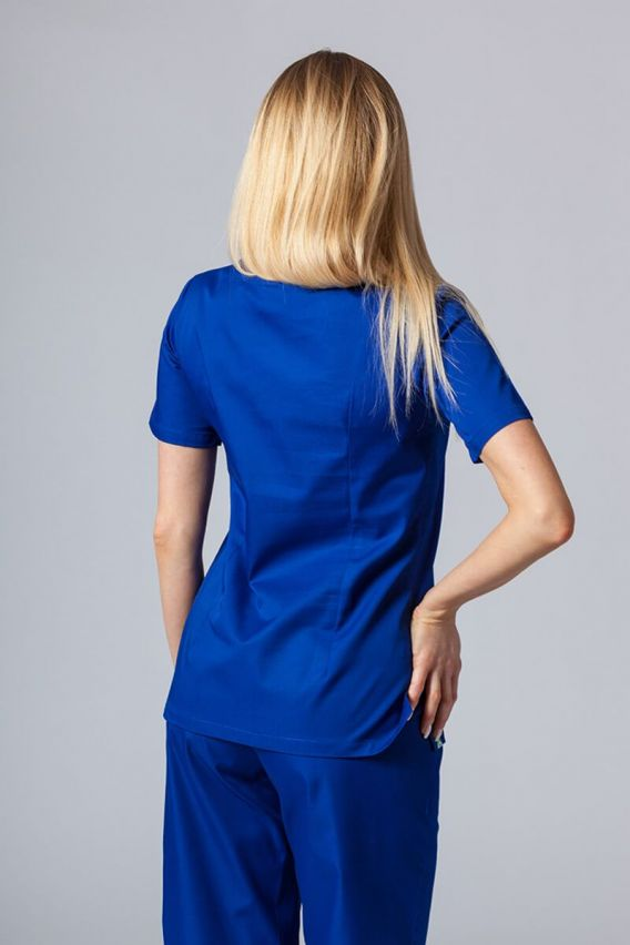 bluzy-medyczne-damskie Lékarská blúzka Sunrise Uniforms tmavo modrá