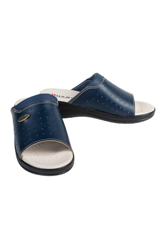 lekarska-obuv-2 Zdravotní obuv Buxa model Professional Med30 námořnická modř