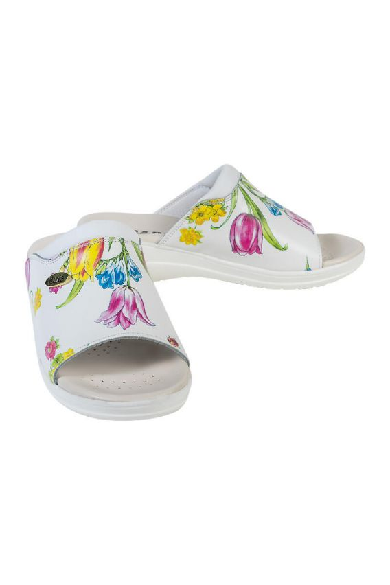 obuwie-medyczne-damskie Zdravotní obuv Buxa model Professional Med30 květy gucci
