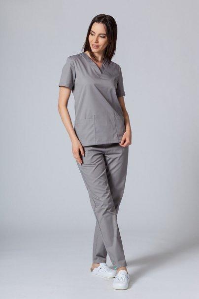 bluzy-medyczne-damskie Lékarská blúzka Sunrise Uniforms šedá
