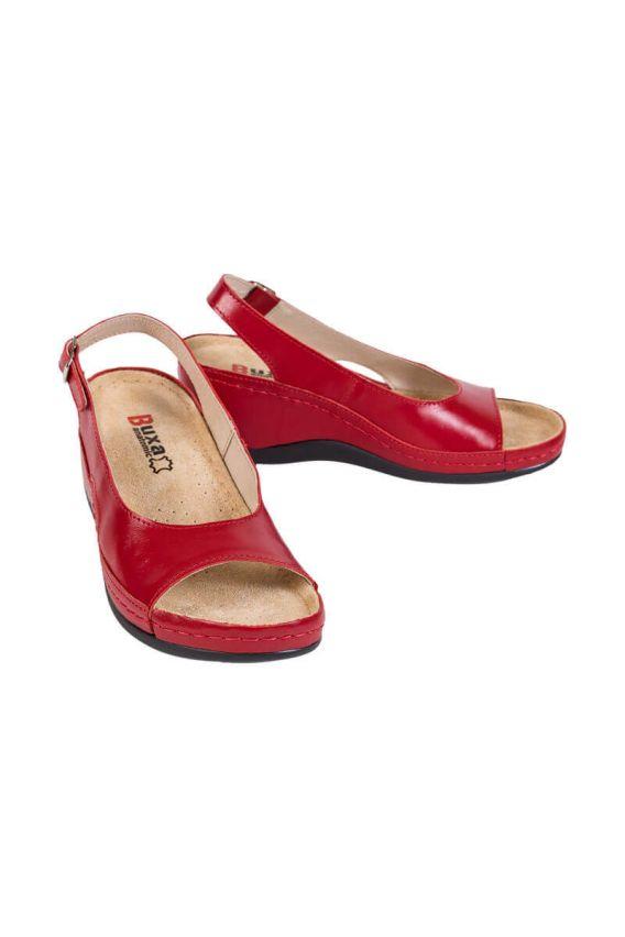 obuwie-medyczne-damskie Zdravotnická obuv Buxa Anatomic BZ330 červená