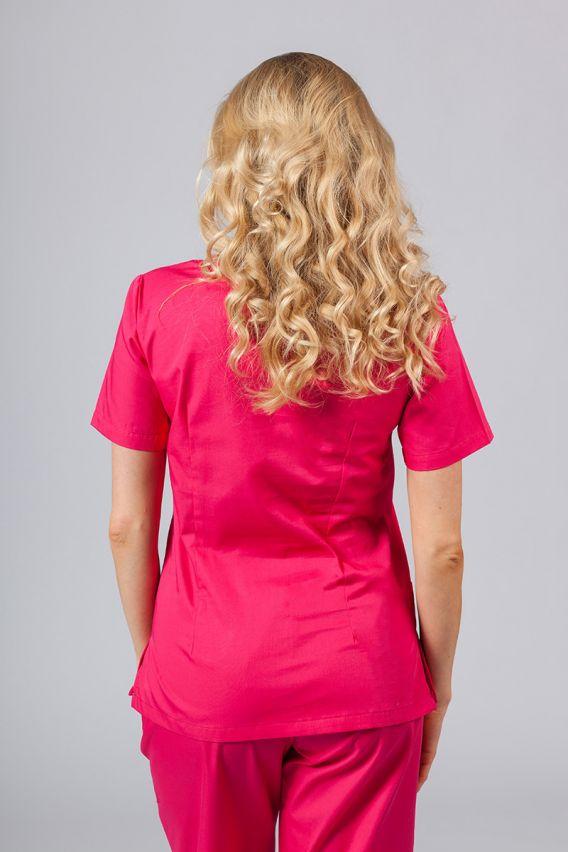 bluzy-medyczne-damskie Lékarská blúzka Sunrise Uniforms malinová