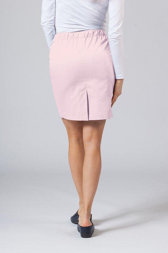 spodnice Krátká zdravotnická sukně Sunrise Uniforms pudrová růžová