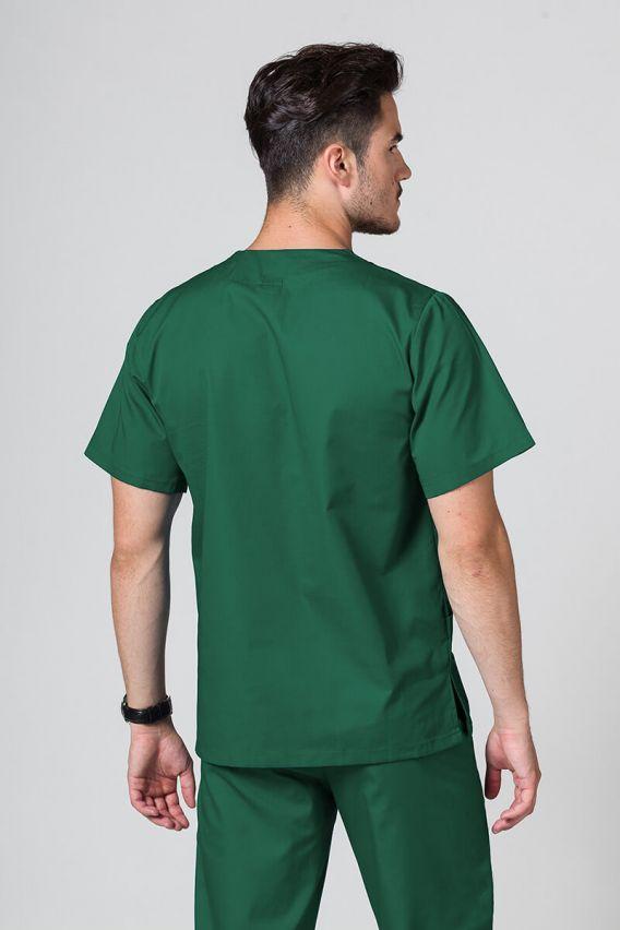bluzy-medyczne-meskie Univerzální lékařská mikina Sunrise Uniforms lahvově zelená