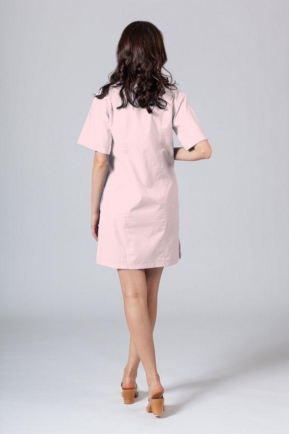 sukienki Lékařské Klasické šaty Sunrise Uniforms pudrová růžová