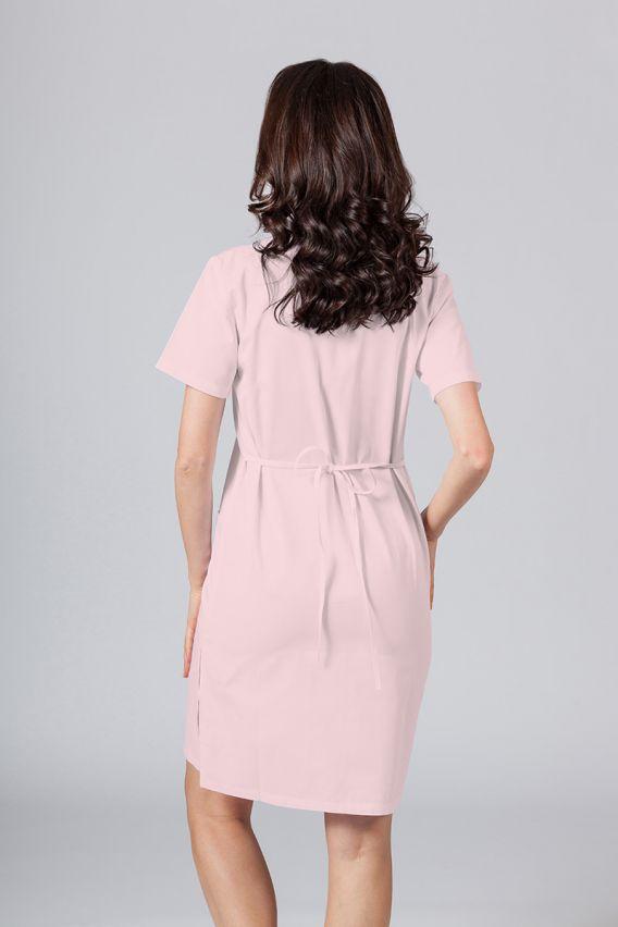 saty-1 Lékařské jednoduché šaty Sunrise Uniforms pudrová růžová