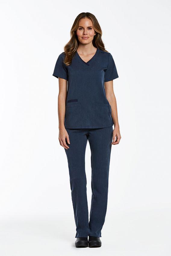bluzy-medyczne-damskie Lékařská halena Maevn Matrix Pro námořnická modř