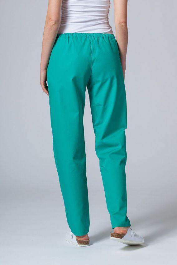 spodnie-medyczne-damskie Univerzální lékarské nohavice Sunrise Uniforms zelené
