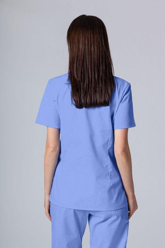 bluzy-medyczne-damskie Lékarská blúzka Sunrise Uniforms modrá promo