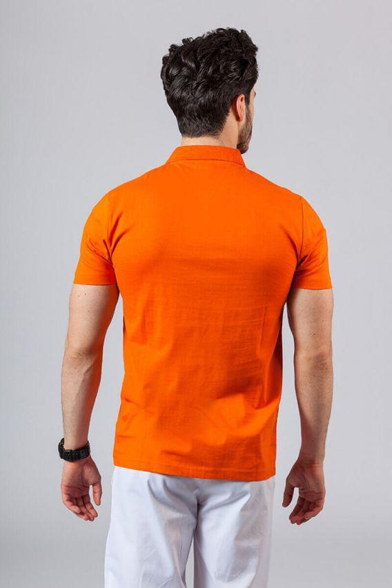 tricka-1-1 Pánské Polo tričko oranžová
