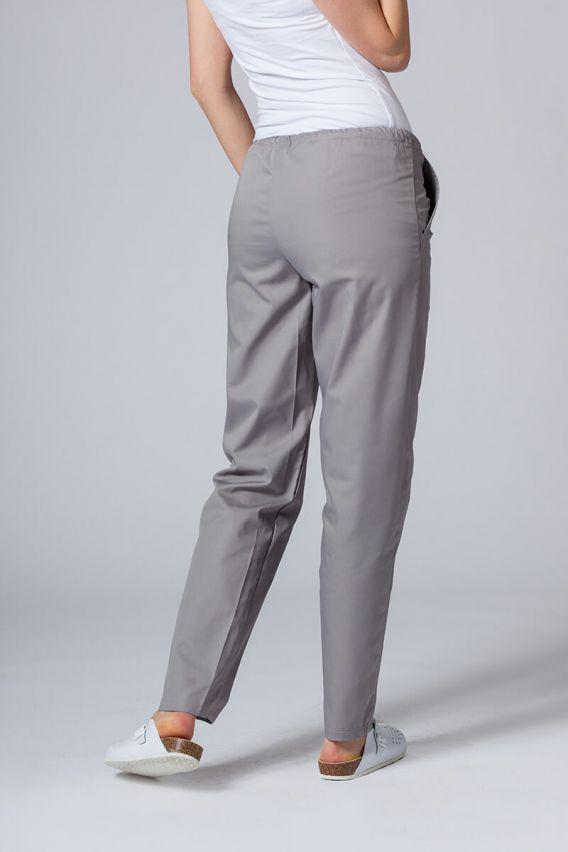 spodnie-medyczne-damskie Univerzální lékařské kalhoty Sunrise Uniforms šedé