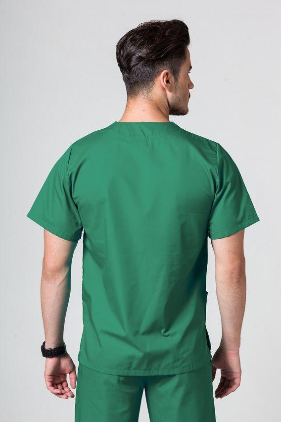 bluzy-1-1 Univerzálna lekárska blúzka Sunrise Uniforms zelená