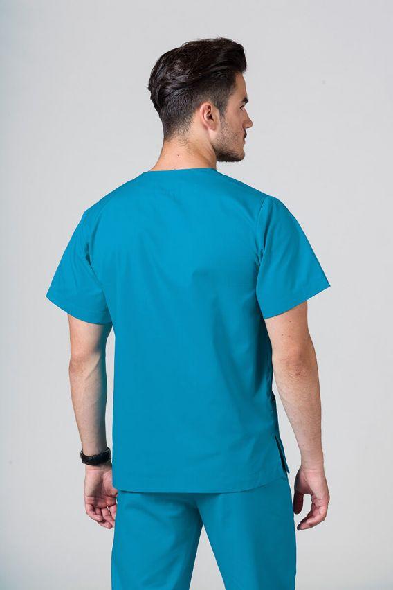 bluzy-medyczne-meskie Univerzálna lekárska blúzka Sunrise Uniforms tyrkysová promo