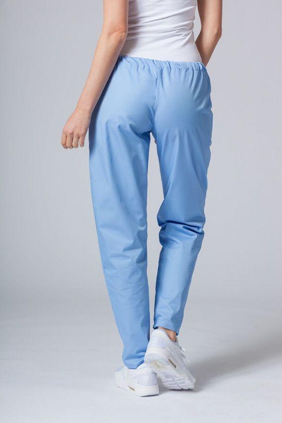 spodnie-medyczne-damskie Univerzální lékarské nohavice Sunrise Uniforms modré
