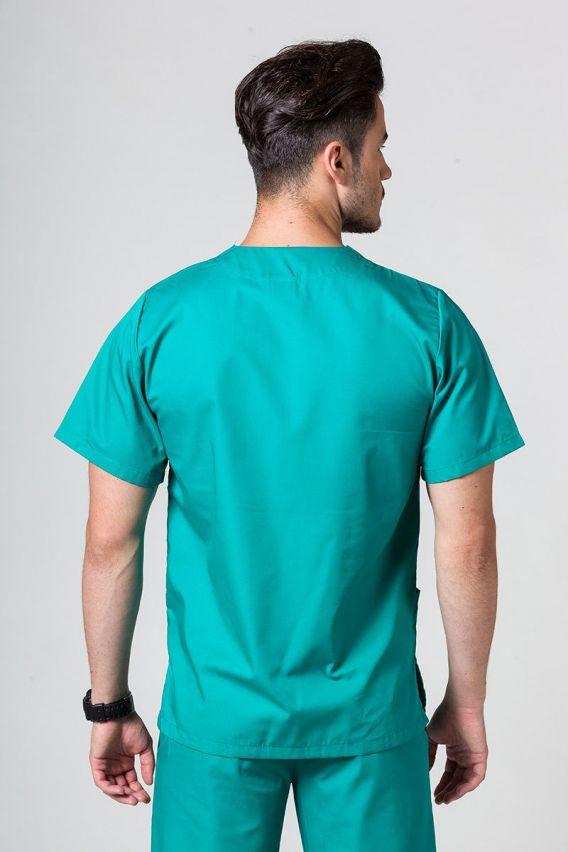 bluzy-medyczne-meskie Univerzální lékařská mikina Sunrise Uniforms zelená