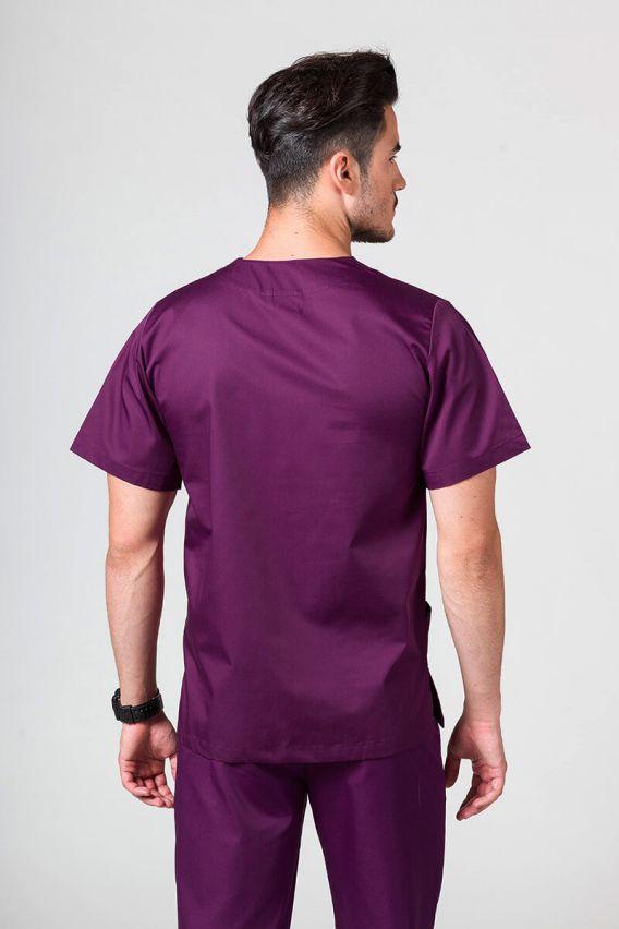 bluzy-medyczne-meskie Univerzální lékařská mikina Sunrise Uniforms světle lilková