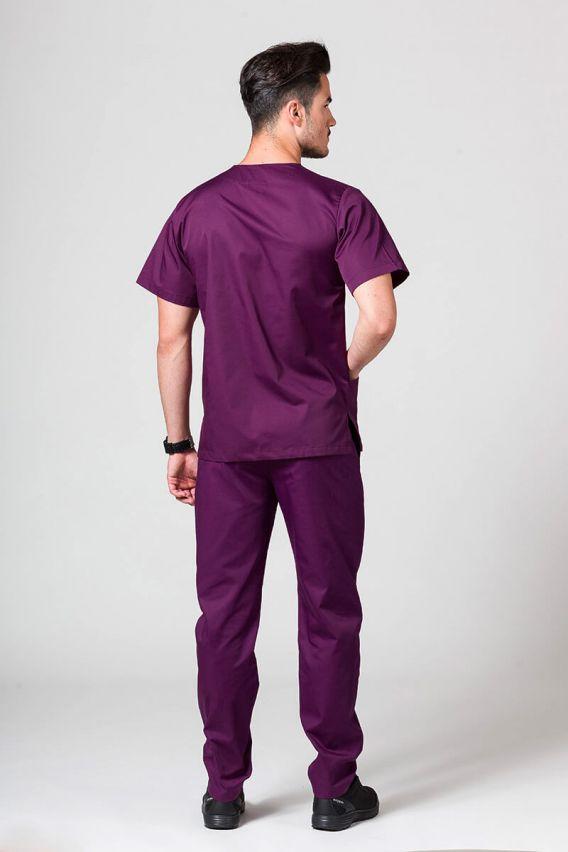 komplety-medyczne-meskie Pánský zdravotnický komplet Sunrise Uniforms tmavý lilek