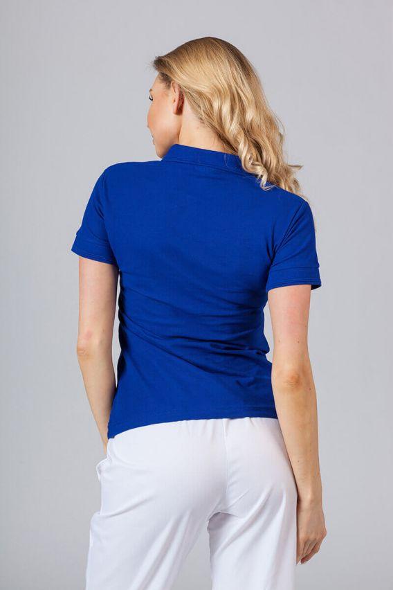 polo-damskie Dámské polo triko tmavě modré