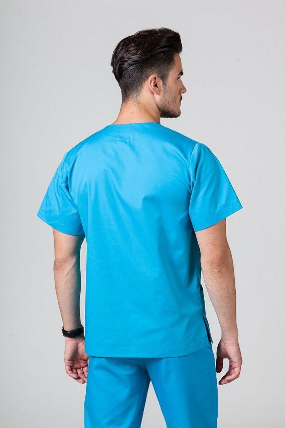 bluzy-medyczne-meskie Univerzálna lekárska blúzka Sunrise Uniforms tyrkysová