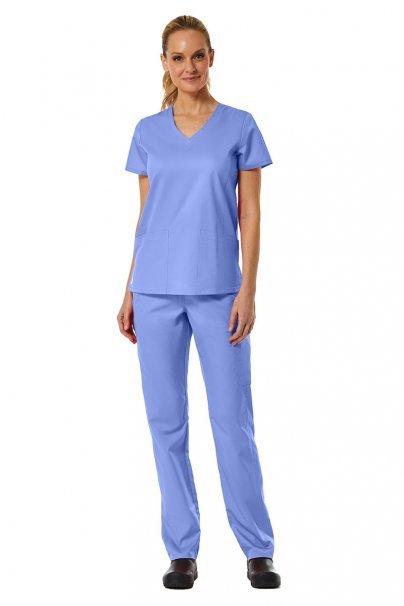 kalhoty-1-1 Dámské nohavice Maevn EON Classic Yoga klasicky modré