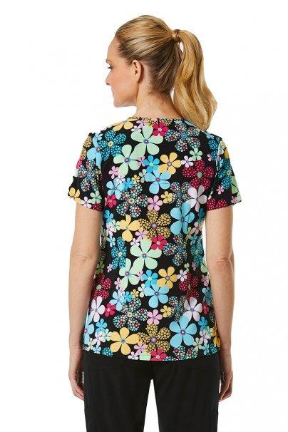 vzorovane-haleny Lékarská blúzka Maevn Prints farebné kvety