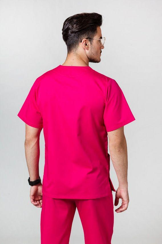 bluzy-medyczne-meskie Univerzálna lekárska blúzka Sunrise Uniforms malinová