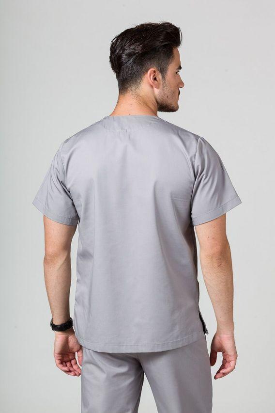 bluzy-medyczne-meskie Univerzálna lekárska blúzka Sunrise Uniforms šedá
