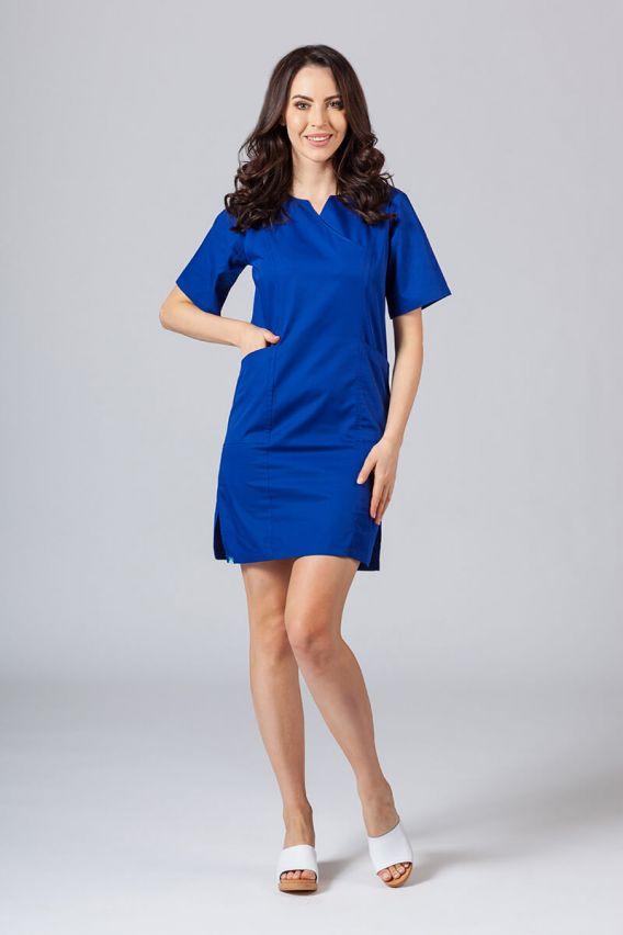 sukienki Lékařské Klasické šaty Sunrise Uniforms tmavo modré