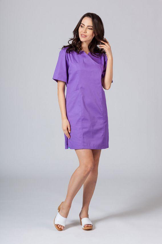 sukienki Lékařské Klasické šaty Sunrise Uniforms fialová