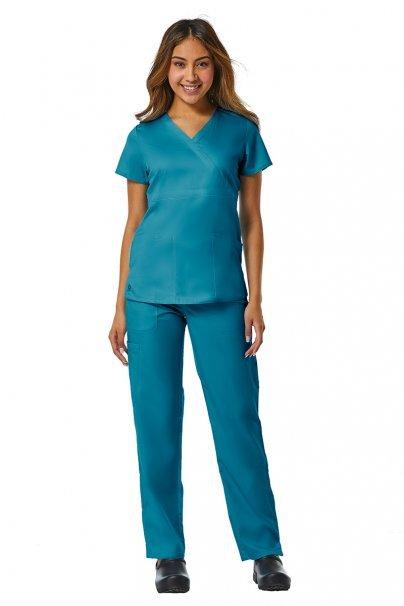 spodnie-medyczne-damskie Dámské kalhoty Maevn EON Style mořsky modré