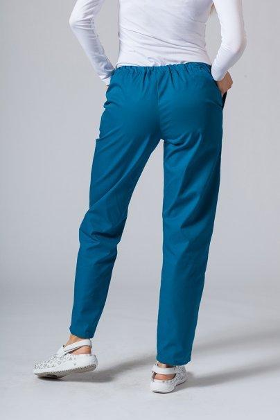 spodnie-medyczne-damskie Univerzální lékarské nohavice Sunrise Uniforms karibské modré
