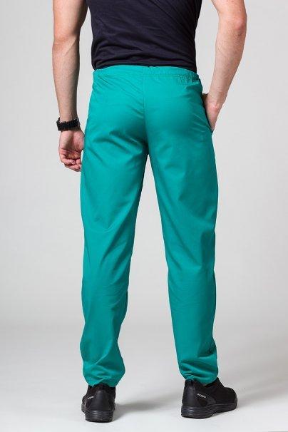 spodnie-medyczne-meskie Univerzální lékarské nohavice Sunrise Uniforms zelené