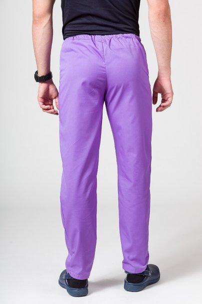 spodnie-medyczne-meskie Univerzální lékarské nohavice Sunrise Uniforms fialové