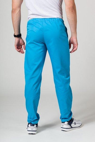 spodnie-medyczne-meskie Univerzální lékarské nohavice Sunrise Uniforms tyrkysové