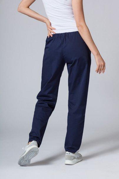 spodnie-medyczne-damskie Univerzální lékarské nohavice Sunrise Uniforms námornícké modré