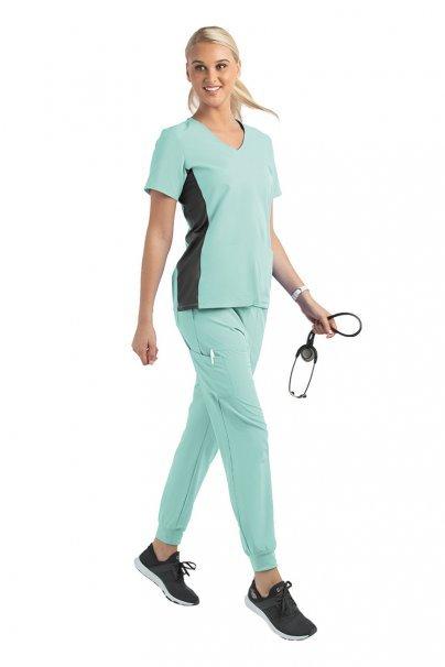 spodnie-medyczne-damskie Dámské kalhoty Maevn Matrix Impulse Jogger mátové
