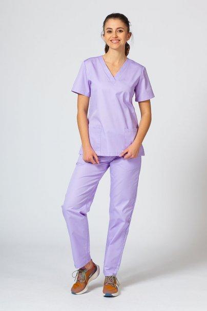 bluzy-medyczne-damskie Lékarská blúzka Sunrise Uniforms levanduľová