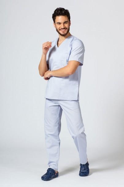 bluzy-1-1 Univerzálna lekárska blúzka Sunrise Uniforms svetlo šedá