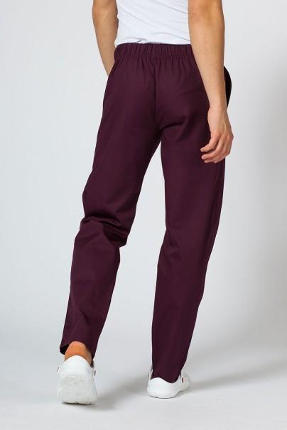 nohavice Univerzální lékarské nohavice Sunrise Uniforms burgundové