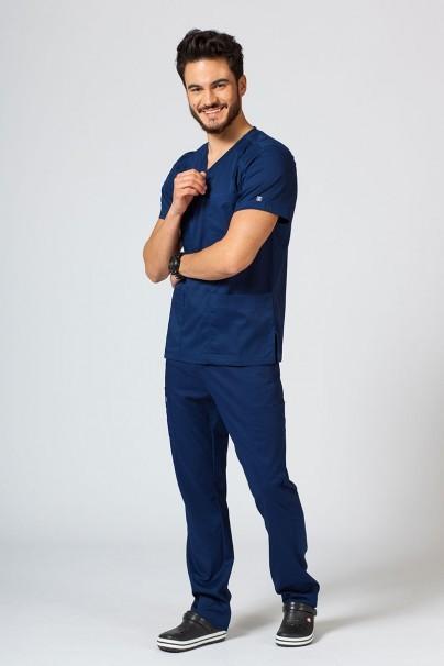 bluzy-1-1 Pánská lékařská blúzka Maevn Matrix Men námornícká modrá