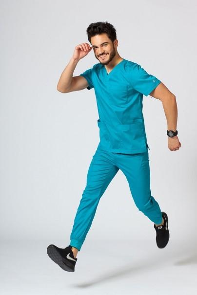 bluzy-1-1 Pánská lékařská blúzka Maevn Matrix Men morska modrá