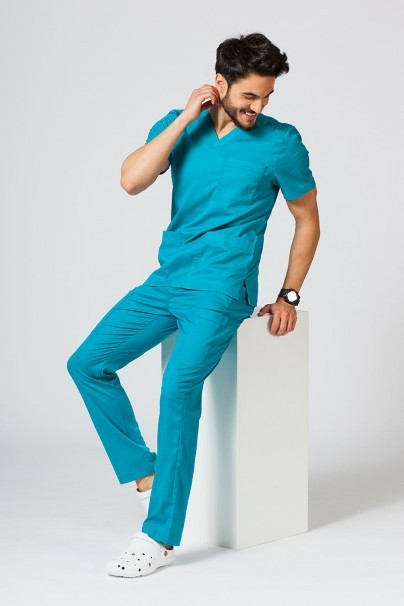 nohavice Lékařské nohavice Maevn Matrix Men Classic morsky modré