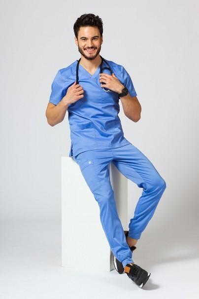 nohavice Lékařské nohavice Maevn Matrix Men klasicky modré