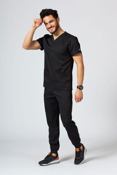 bluzy-1-1 Pánská lékařská blúzka Maevn Matrix Men čierna